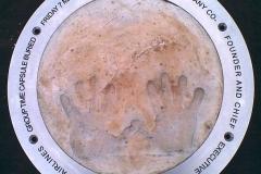 Aluminium Ground Memorial Plate