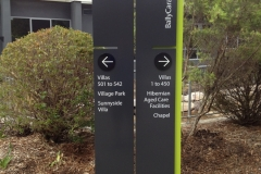 Free Standing Directional Signs